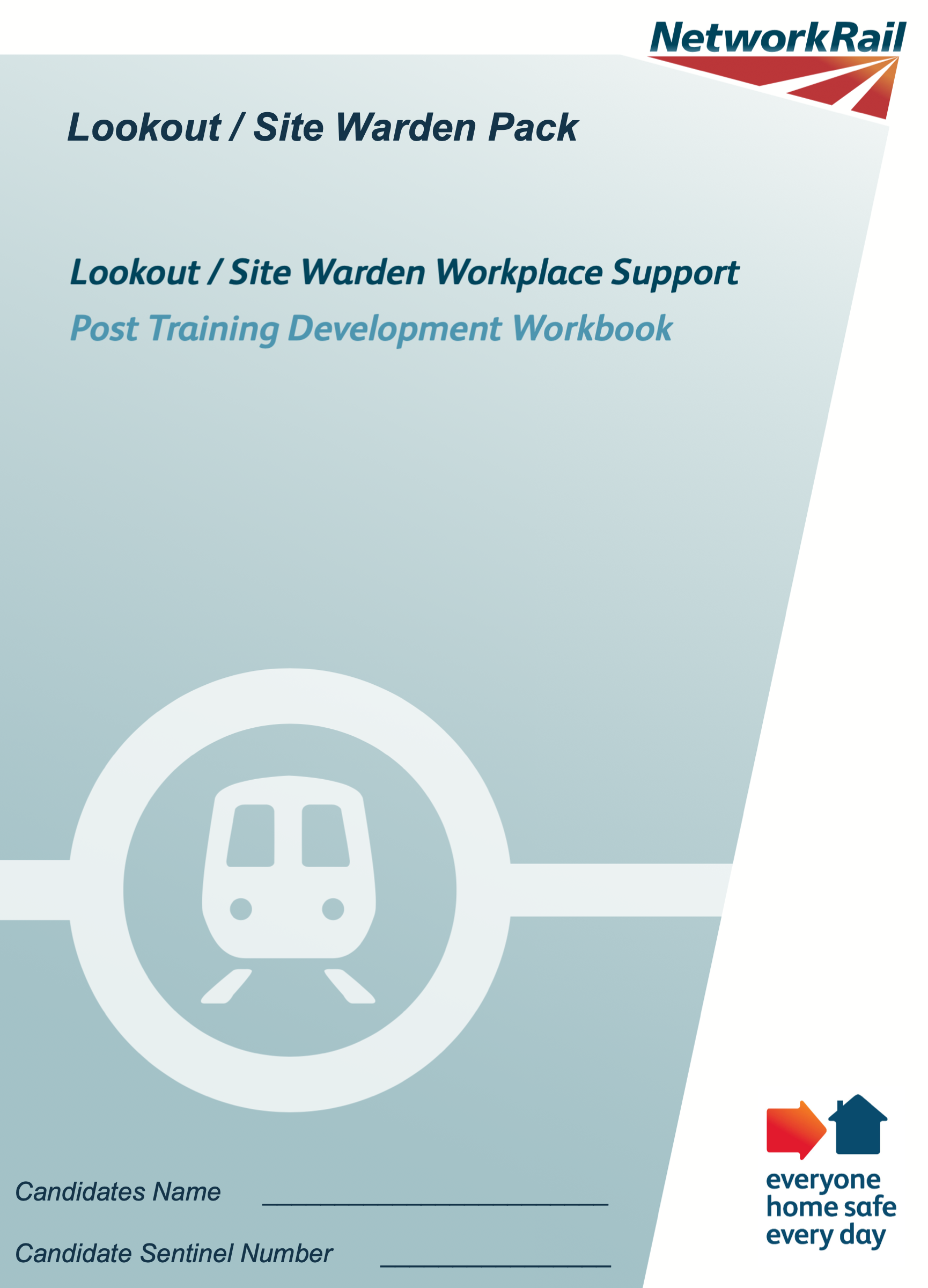 Lookout Workbook (Post-Training Workbook) Cover