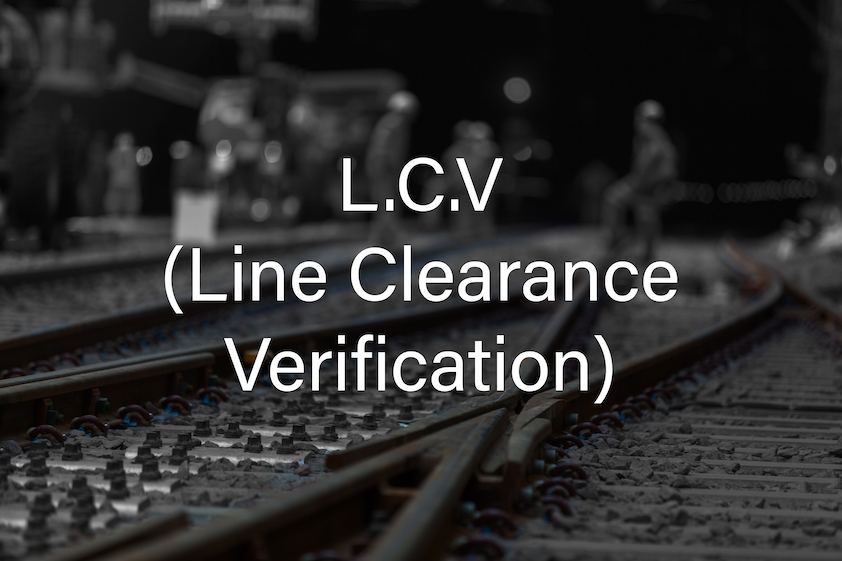 COSS LCV (Line Clearance Verification) Cover