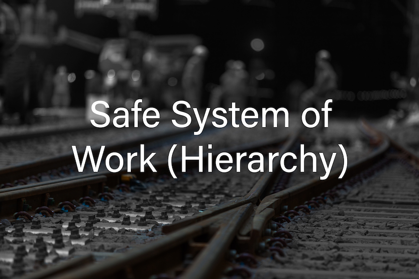 PTS Safe System of Work (Hierarchy) Cover