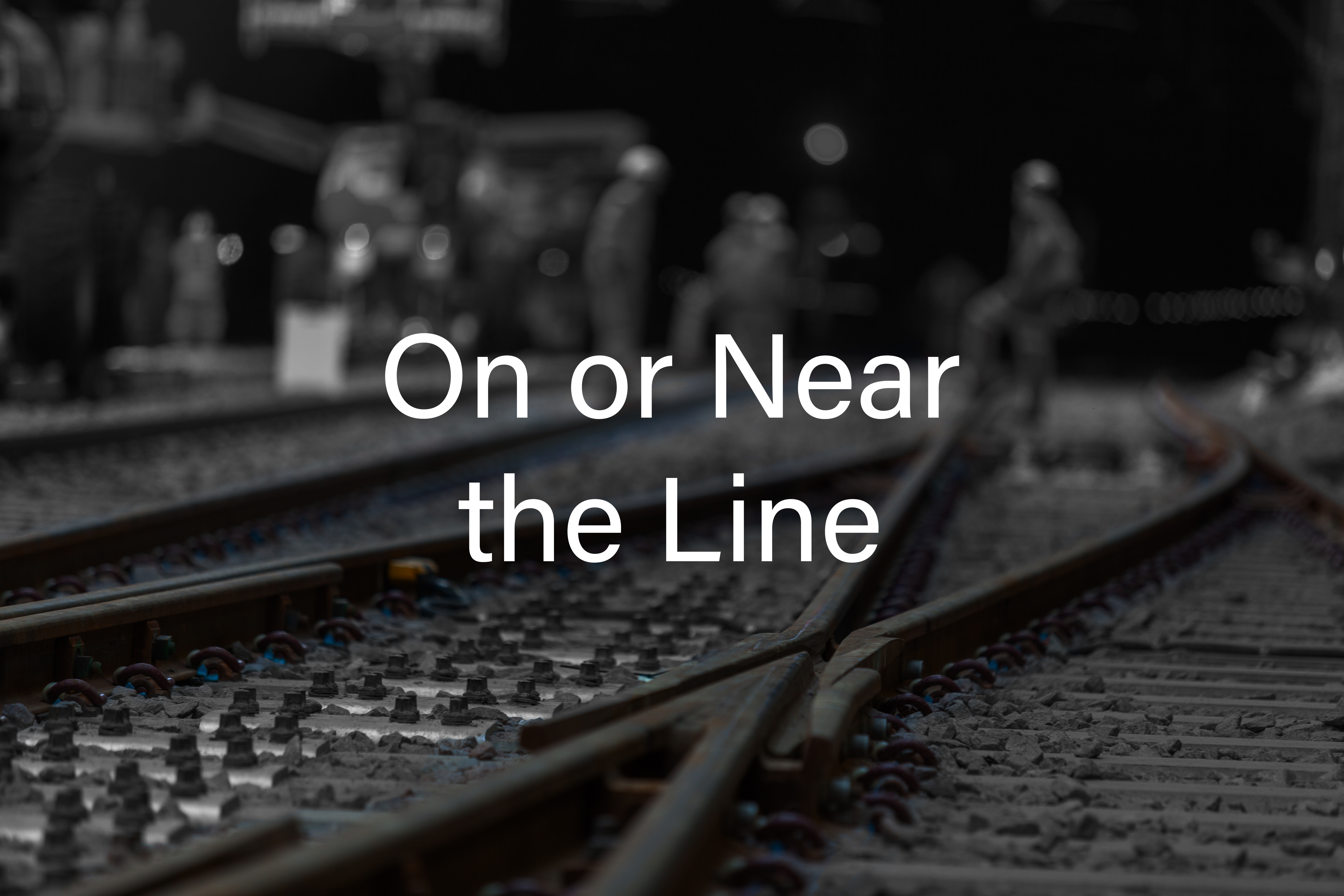 On or Near the Line Cover