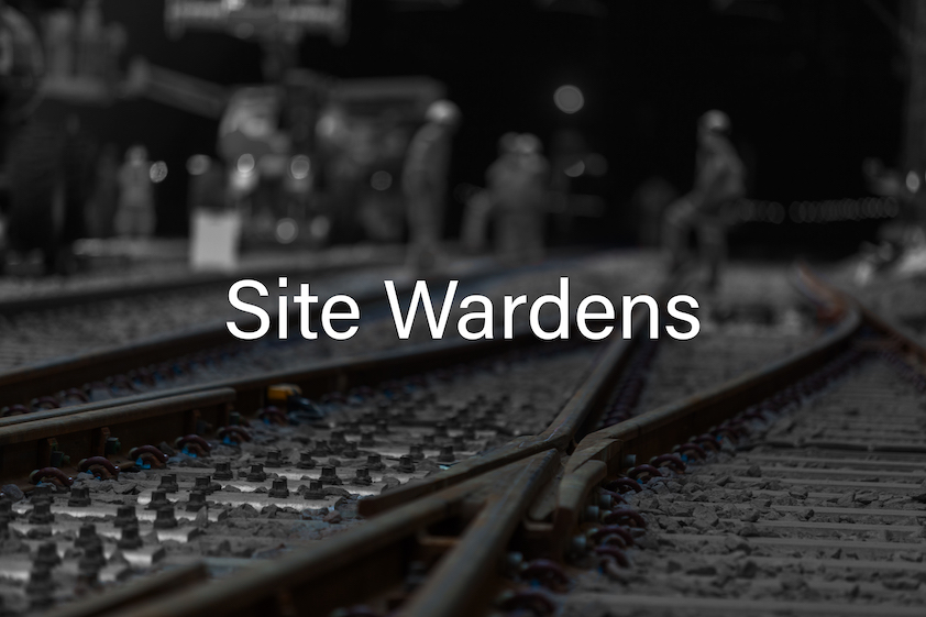 Site Wardens  Cover