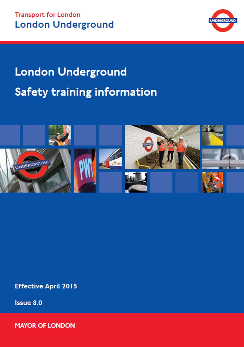 LU - Safety Training Information Booklet Cover