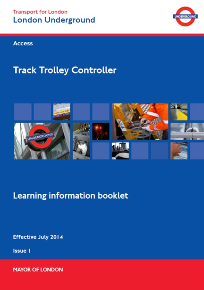 LU - Track Trolley Controller Cover