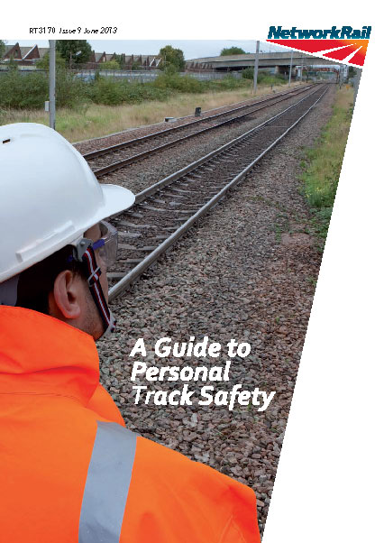 PTS Handbook (Personal Track Safety Handbook) Cover