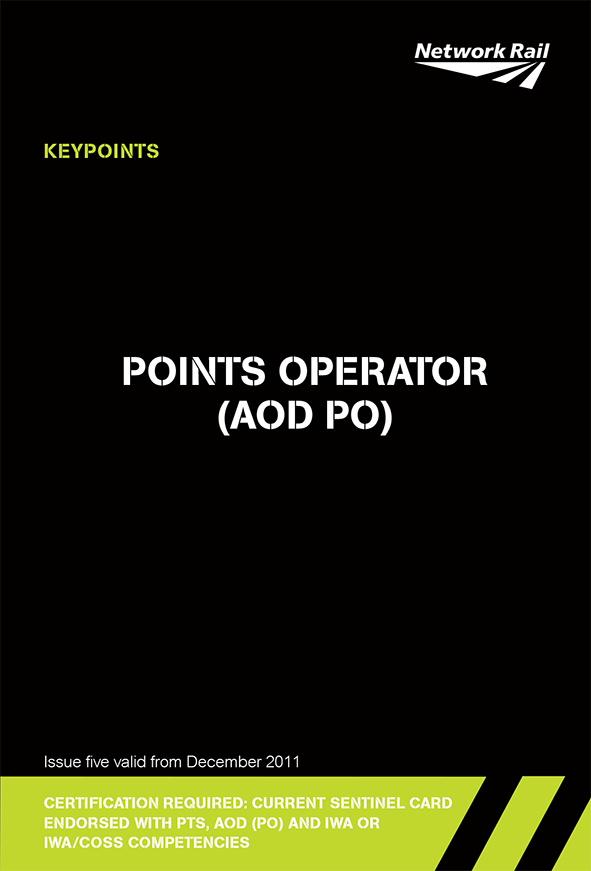 Points Operator (AOD PO) Cover