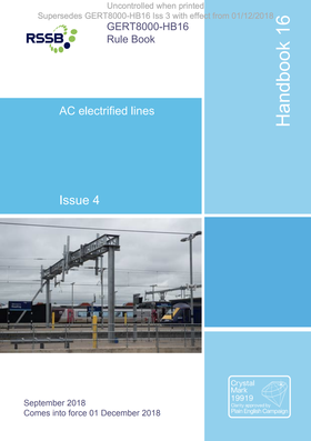 Handbook 16 AC Electrified Lines (OLEC 1) Cover