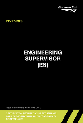 Engineering Supervisor (ES) Cover