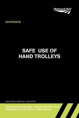 Hand Trolley Controller (Track Trolley) Cover