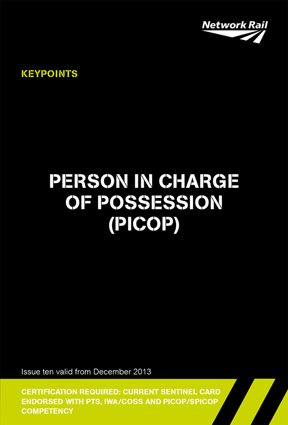 Person In Charge Of Possession (PICOP) Cover