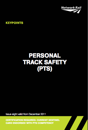 Personal Track Safety (PTS) Cover
