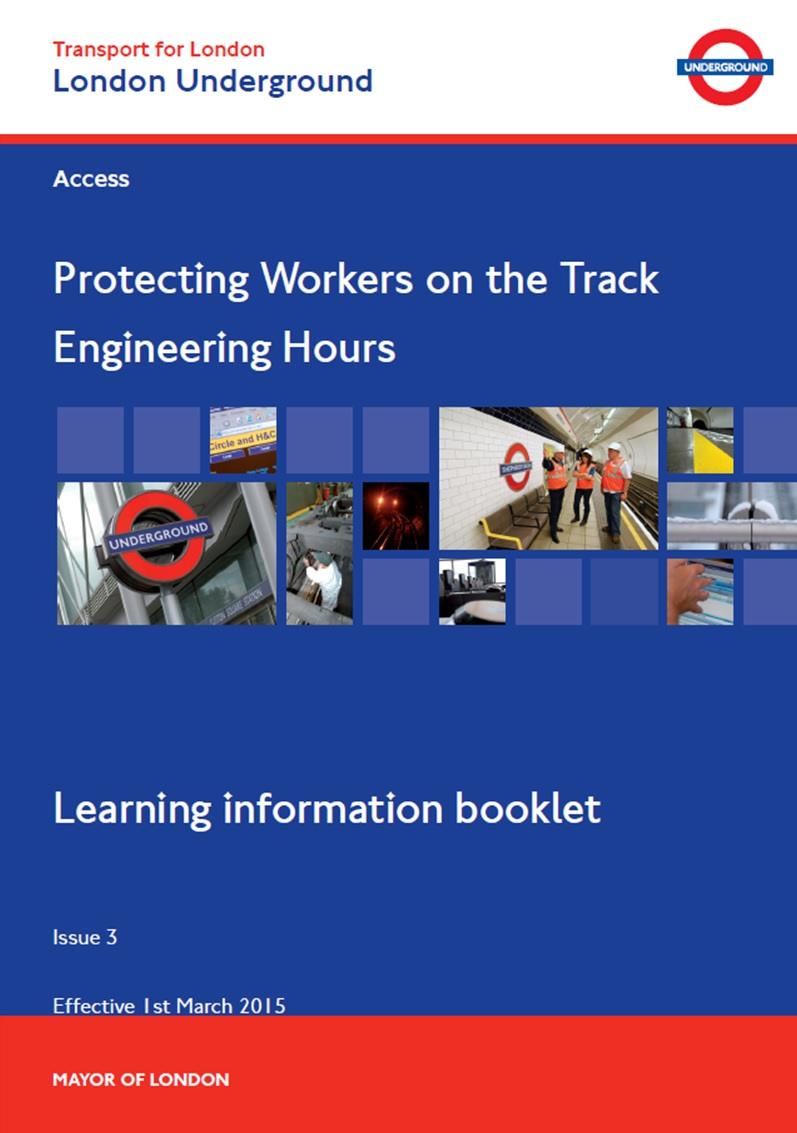 LU - Protecting Workers on the Track (Engineering Hours) Cover