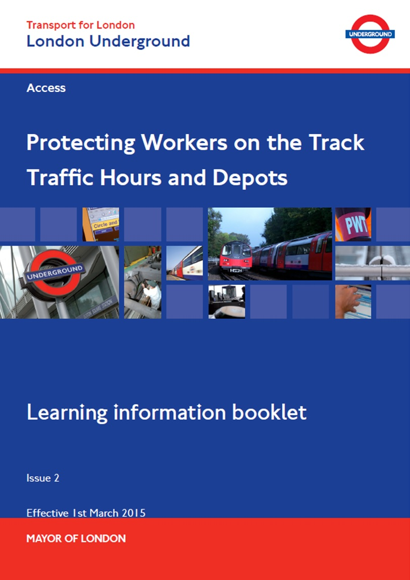 LU - Protecting Workers on the Track (Traffic Hours & Depots) Cover