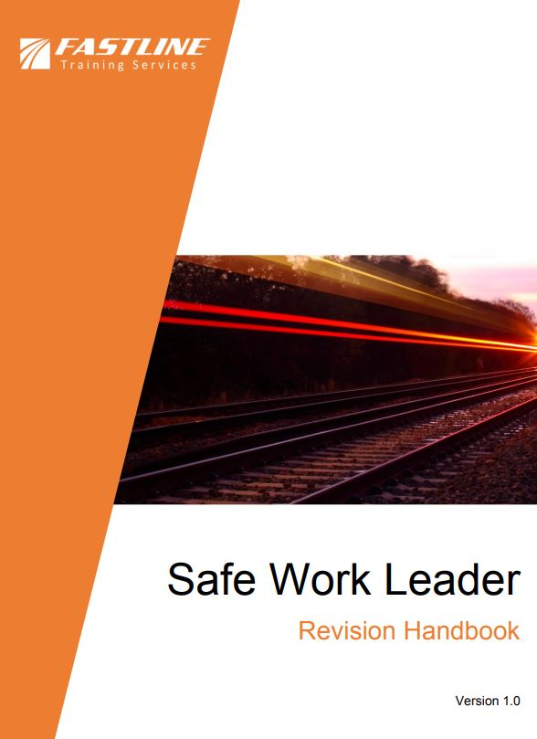 Safe Work Leader Revision Handbook Cover