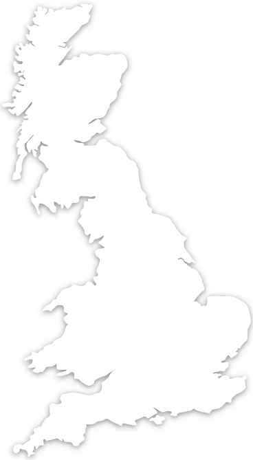 Uk map base for location point overlay